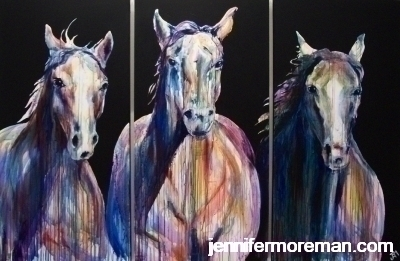 Ghost Riders in the Sky 48x72- SOLD