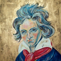 Beethoven 20x40- SOLD