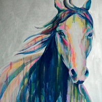 Miss Ellie 36x48 SOLD